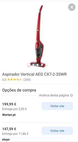 Aspirador vertical AEG