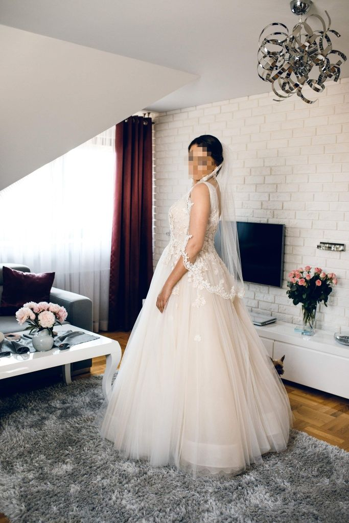 Suknia ślubna Justin Alexander 2019