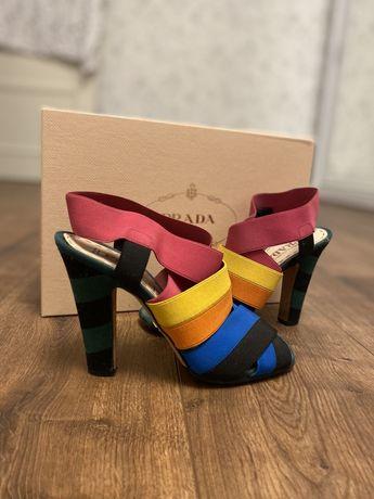Босоножки туфли prada