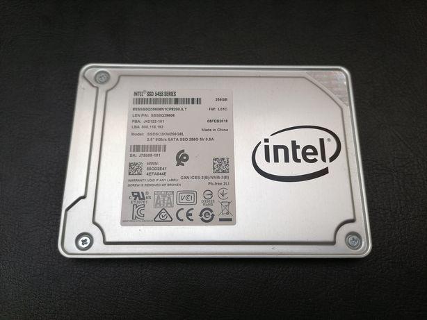 Dysk Intel SSD 256 GB