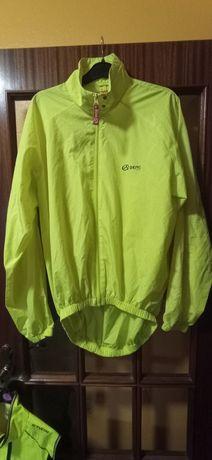 Blusão corta vento reflector BERG para bicicleta/caminhadas/corrida