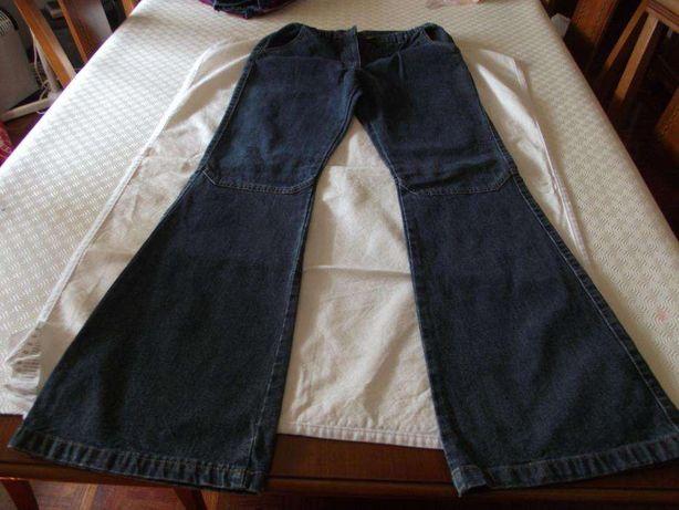 Calças de ganga para menina 14 anos marca Regazzo