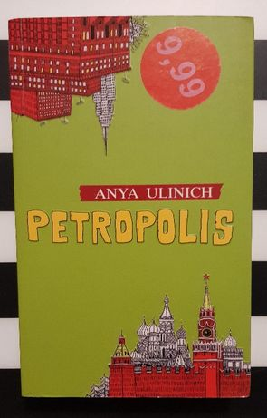 Książka Anya Ulinich Petrolopolis