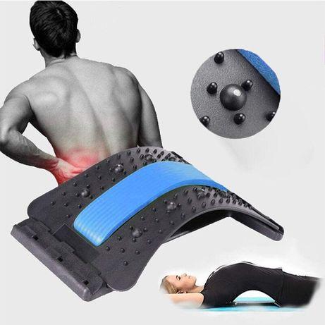 Przyrząd do rozciągania pleców back massage