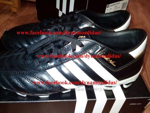 Бутсы копочки детские Адидас Adidas AdiNova FG кожаные