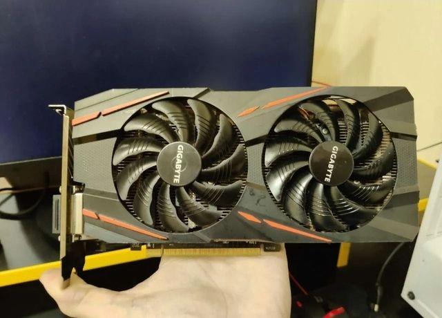 Gigabyte RX 580 Gaming 4 рабочая