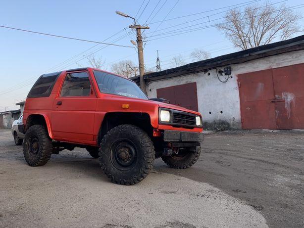 Джип Daihatsu feroza 2.2 дизель ,ходовка Ваз (Jeep)