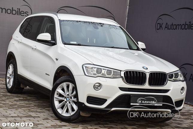 BMW X3 X3 2.0D *X LINE* AUTOMAT, NAVI, Skóry, Gwarancja 12m cy, ASO, FACELIFT