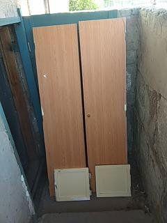 Двери кладовки квартирные