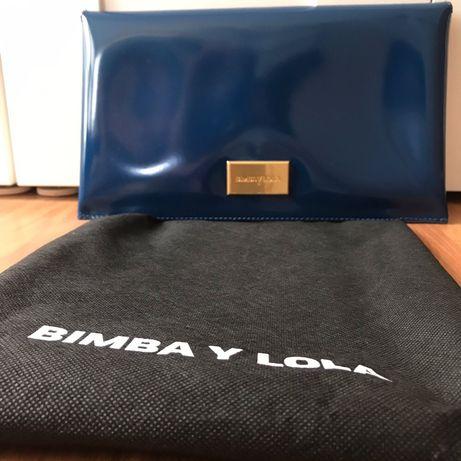 Mala/Pochete azul NOVA- Bimba y Lola -com etiqueta e bolsa