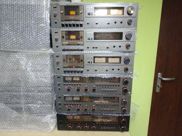 Unitra ZRK Amplituner AT9100, Magnetofon M9108 ,M9115 po renowacji