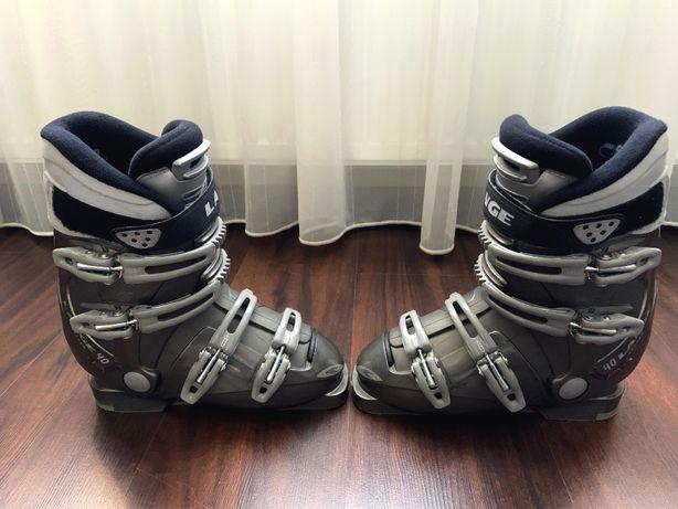 Buty narciarskie Lange 24.5 - prawie nowe okazja!