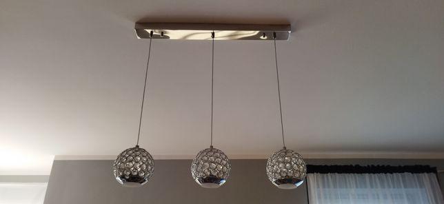 Lampa wisząca sufitowa kryształki