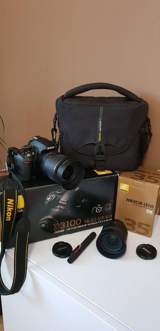 Продам Nikon D 3100, объектив NikonAF-S NIKKOR 35mm f/1.8G