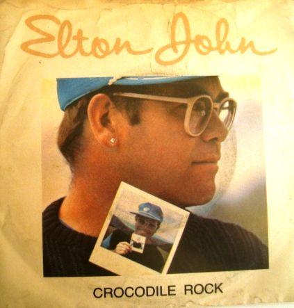 "Discos de Vinil Elton John lote 4 discos /7"" 45RPM"