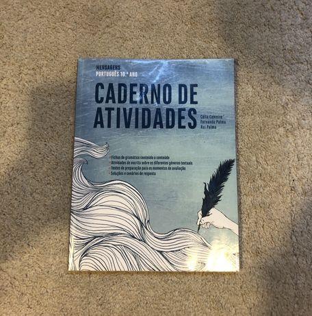 """Caderno de Atividades Portugues 10° ano """" Mensagens"""" NOVO"""