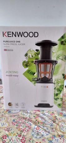 Liquidificadora slow juicer Kenwood PureJuice One como nova (2020)