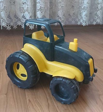 Трактор тягач детский