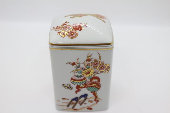 Caixa Oriental Coleção Samurai Vista Alegre 1992 11 A cm