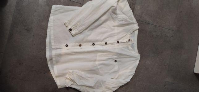 Koszula przewiewna bez kołnierza 122