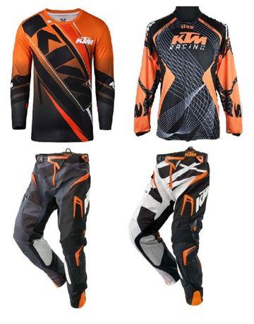 Комплект штаны и джерси мотокросс КТМ для эндуро и кросс KTM вело