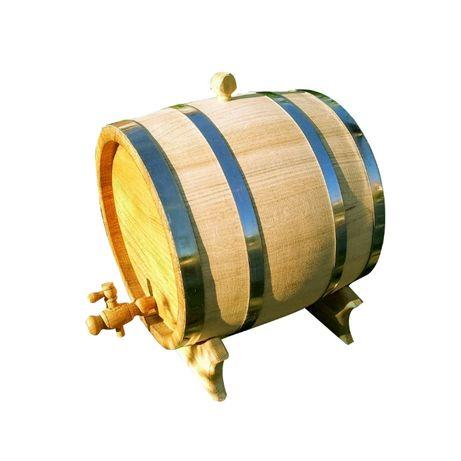 Деревянная Дубовая Бочка на 10 литров для Вина Коньяка Алкогол