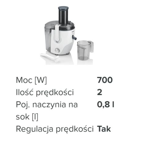 Sokowirówka Zelmer JE1000S