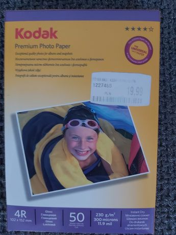 Papier fotograficzny Kodak 4R 50 arkuszy