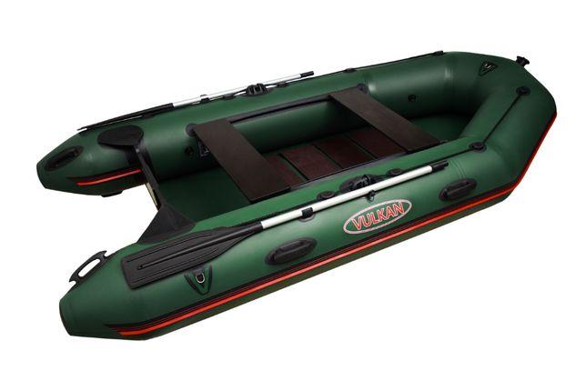 Моторная надувная ПВХ лодка с транцем Вулкан VM310 на 42 баллоне