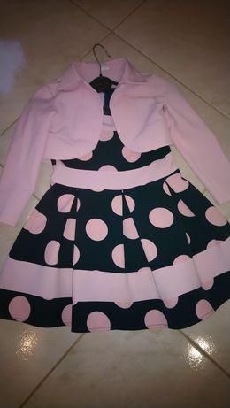 Sukienka z bolerkiem r.122
