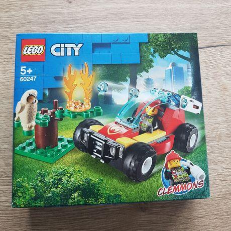 Klocki lego City 60247 pożar lasu nowe