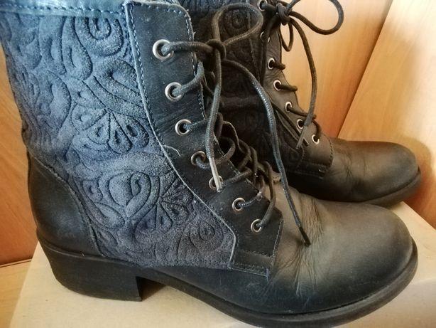 Ботинки р 37,5+ слипоны, туфли кожаные, чоботи, черевики