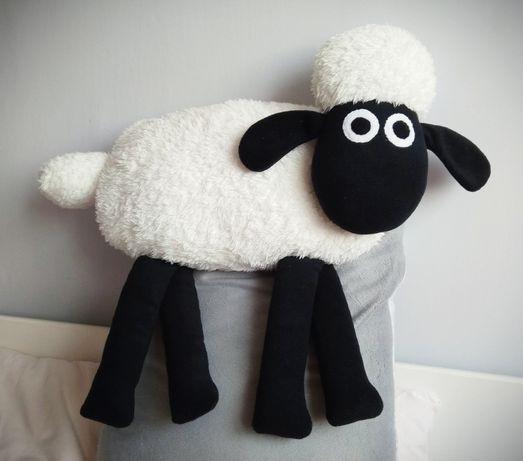 DUŻA przytulanka baranek Shaun maskotka poduszka rękodzieło HANDMADE
