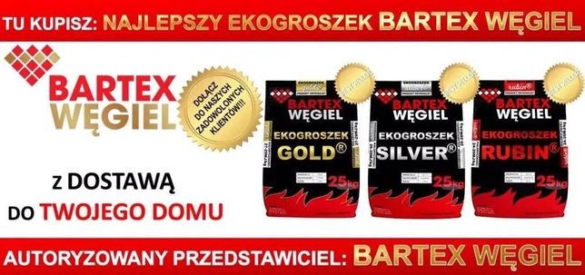 Ekogroszek Bartex Gold, Silver, Black Power Miastko Polanów Słupsk