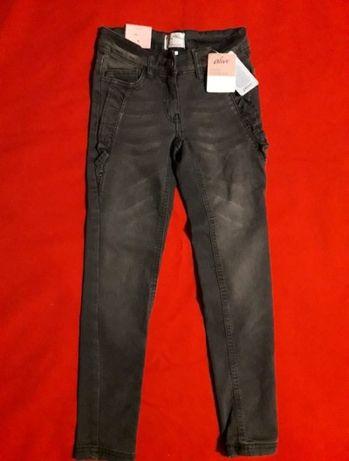 Трендовые серые джинсы скинни штаны alive Alive