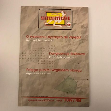 Miniatury matematyczne 58
