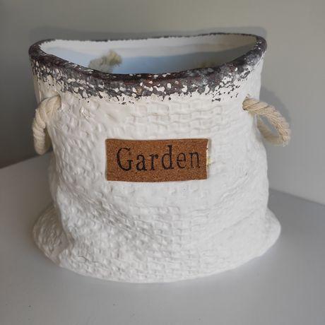 Donice Garden vintage worek wys. 17 cm
