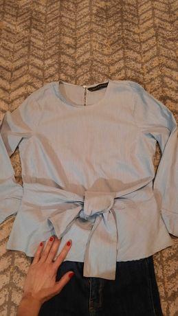 Koszula bawełniana Zara 34