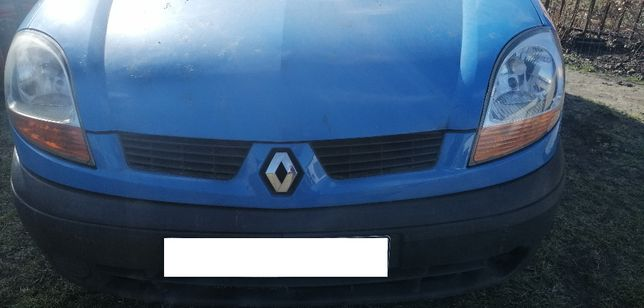Renault Kangoo 1,5dci mechaniczne i blacharskie części z 2004r