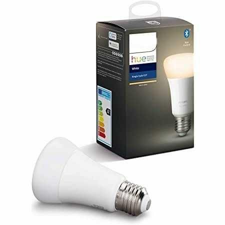 Lâmpada Philips Hue E27 temperatura luz regulável Alexa e Google Home