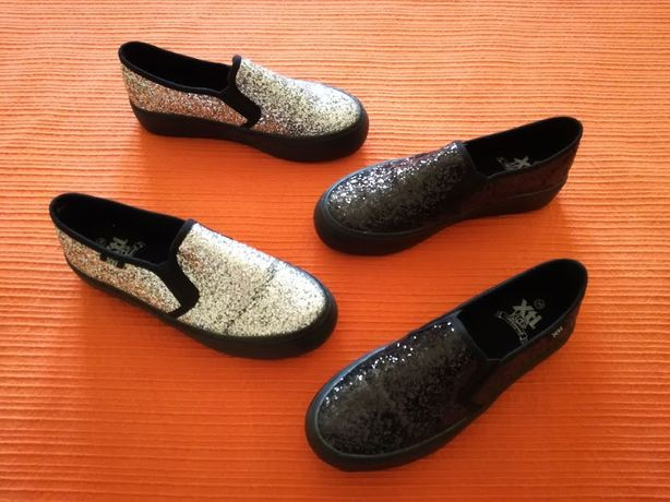 Lote Sapatos Silp On Glitter, 36