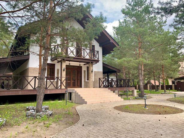 Маєток - Будинок 300м, ліс + 25 сот,  дизайн, охорона...Дмитрівка