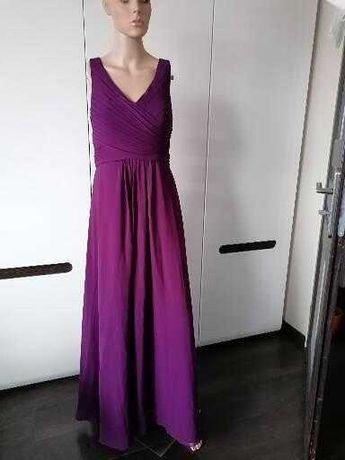 JJ SHOUSE Wizytowa suknia jak nowa wesele impreza S/M Tanio!