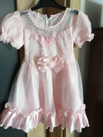 Elegancka sukienka 5-6 lat