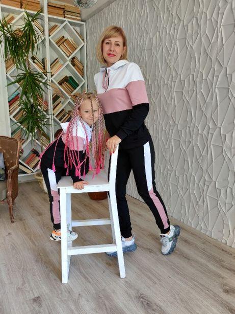 Очень красивый спортивный костюм Family Look. Все размеры!
