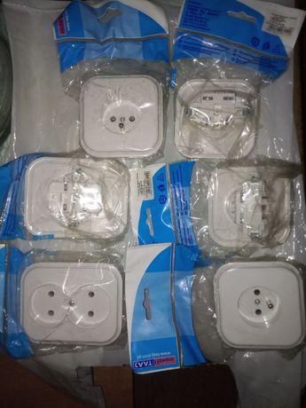 Nowe gniazdka - kontakty, 4xGPt-16C i 2xGPt-5C