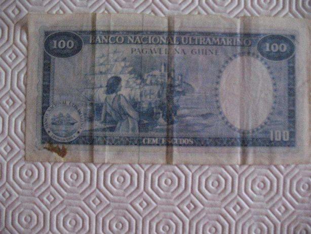 Nota de 100 Escudos da Guiné