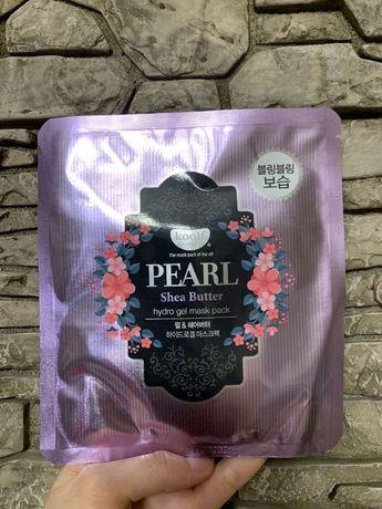 Гидрогелевая маска для лица  koelf pearl & shea butter hydro gel mask