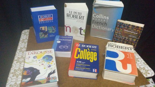 8 Dicionários livros Franceses