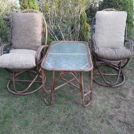 Zestaw fotele stolik
